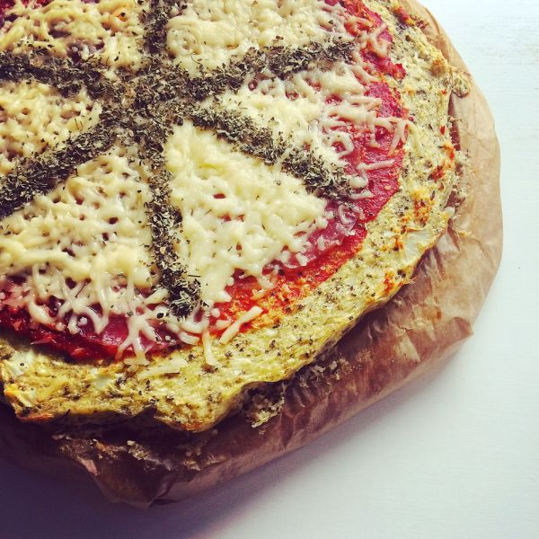 Low Carb Pizzucha!
